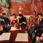 Декадентский салон, 2008 г. ,съемки для канала ТНТ