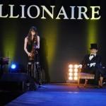 """""""Бостонское чаепитие"""" на выставке Millionaire Fair в Манеже (2010)"""